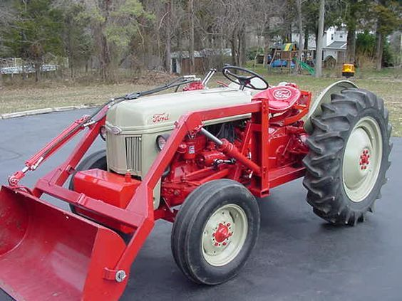Front Mount Live Hydraulics 8n Ford Tractor Ford Tractors For Sale Ford Tractors