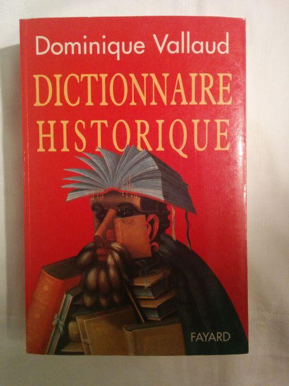 Dictionnaire Historique (French Language)