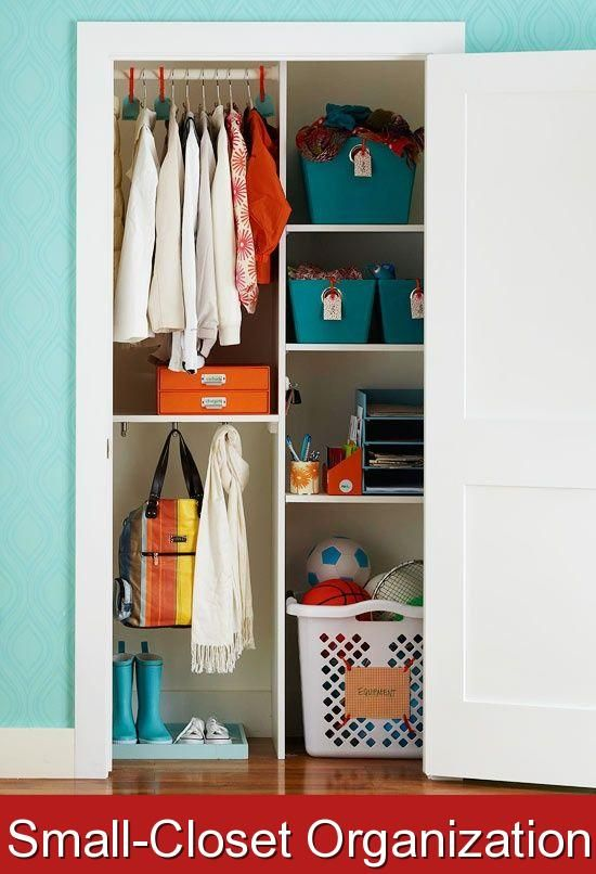 Small Closet Organization When Closet Space Is At A Premium It S Important To Make Every Inch Count Keep Your Small Closet Organize 2020 Depolama Dolaplar Storage