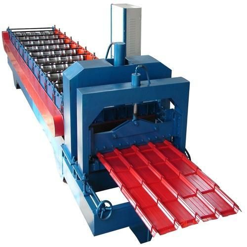 Glazed Tile Roll Forming Machine Is Excellent Choice When Reliable Flexible And High Quality Glazed Til In 2020 Corrugated Roofing Stainless Steel Sheet Steel Roofing
