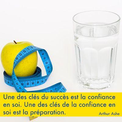 Une des clés du succès est la confiance en soi. Une des clés de la confiance en soi est la préparation. Arthur Ashe