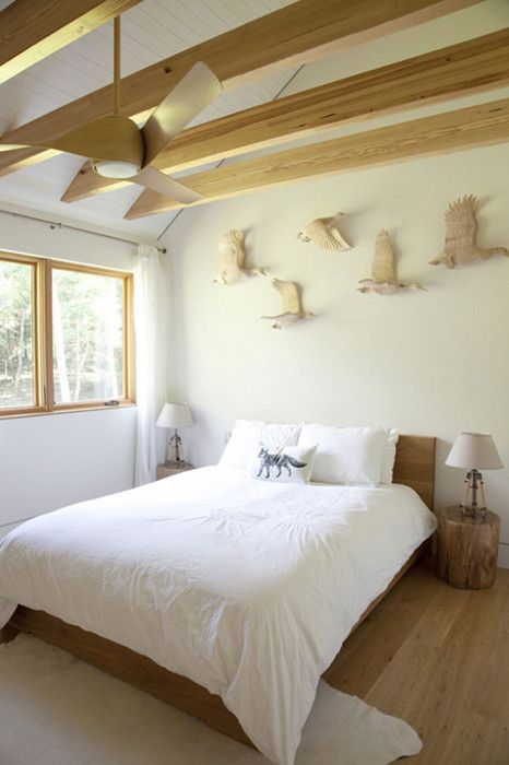 #wood in a #white space