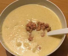 Rezept Blumenkohlsuppe (low carb) von Mel-he - Rezept der Kategorie Hauptgerichte mit Fisch & Meeresfrüchten
