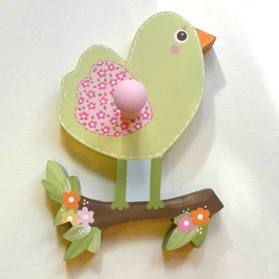 Love And Nature Bird Wall Peg or Decor Piece Without Peg (Circo)