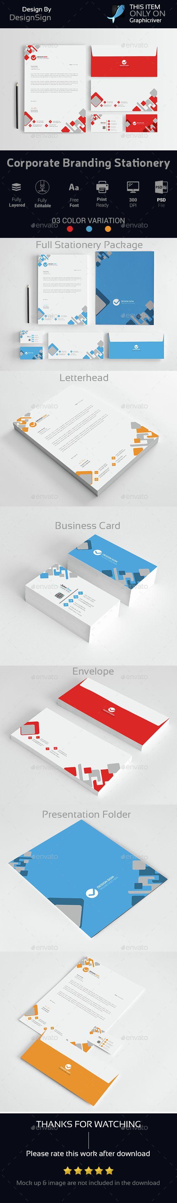 Corporate Branding Stationery Vol-03