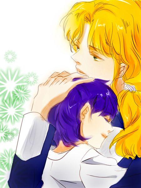Sailor Moon / Zoisite and Mercury