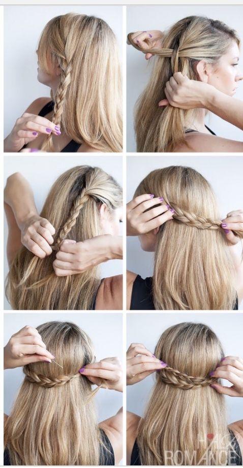 Pin By Zoeee 3 On Hairstyles Hair Styles Cute Simple Hairstyles Cute Hairstyles For Medium Hair