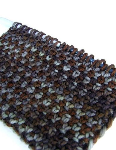 Project Spectrum Earth: Solana Linen Stitch Scarf | Flickr - Photo Sharing!
