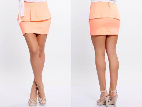 Saia peplum: Summer Collection, Moda Fashion, Summer 2013