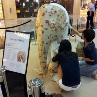 Elephant Parade for Orchard Road
