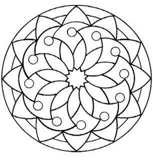 Aprendiendo A Relajarnos Con Mandalas Plantillas Para
