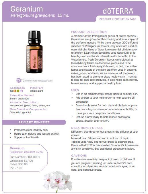 recipe: geranium essential oil pregnancy [20]