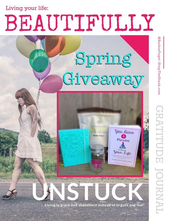 Spring Give Away! Coaching, nutrition, planner, meditation guide & more!