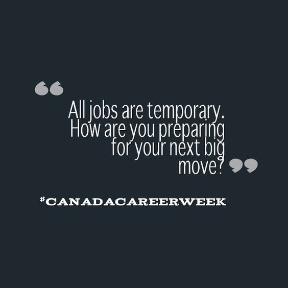 It is day 4 of Canada Career Week. Have you taken advantage of the free seminars on resumes, job search, and career management? It's not too late: http://lnkd.in/bcAuJRi