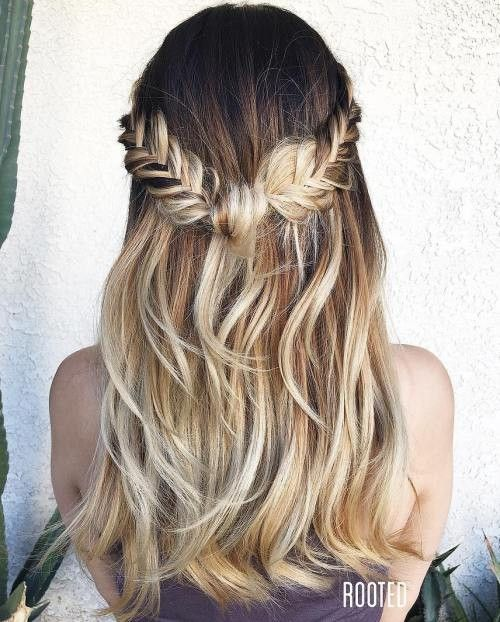 20 Einfache Frisuren Fur Das Fabelhafte Madchen Unterwegs Easy Hairstyles Braided Hairstyles Medium Hair Styles