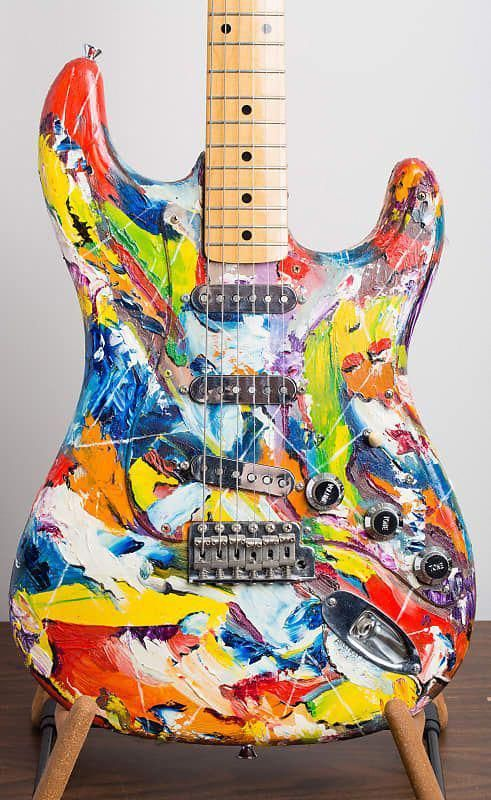 22 Wonderful Fender Guitar Wall Mount In 2020 Guitar Guitar Painting Rock And Roll