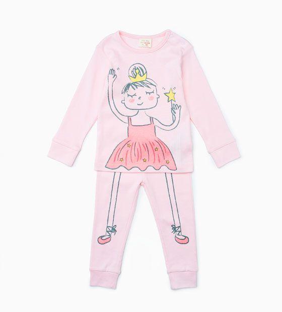 Pyjama danseuse «Glows in the dark»