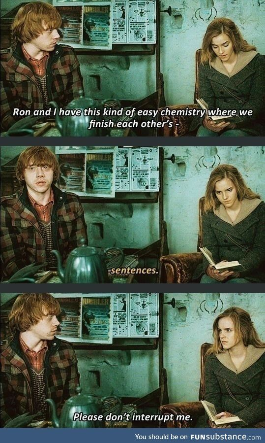 What A Rocky Relationship Funsubstance Harry Potter Funny Harry Potter Quotes Harry Potter Puns