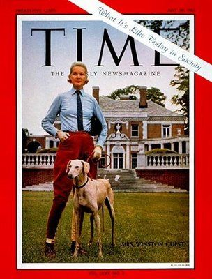 C.Z. Guest on the cover of Time magazine in 1962.