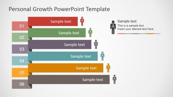 Career Path Presentation Template Personal Growth Powerpoint