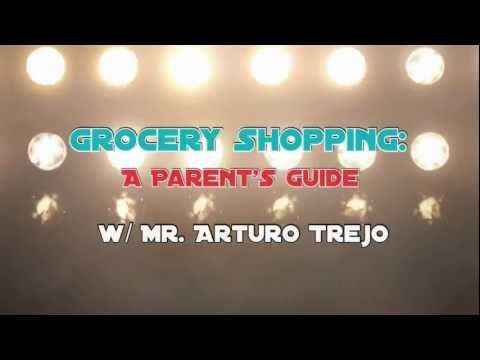 A guide to surviving grocery shopping w/ kids by Mr. Arturo Trejo (via PBS Parents)