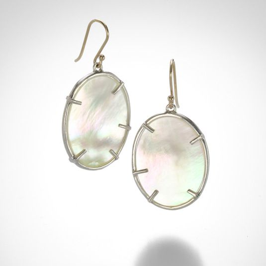 Silver Dollar Earrings by Annette Ferdinandsen @QUADRUM
