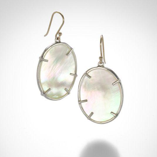 Silver Dollar Earrings by Annette Ferdinandsen @QUADRUM