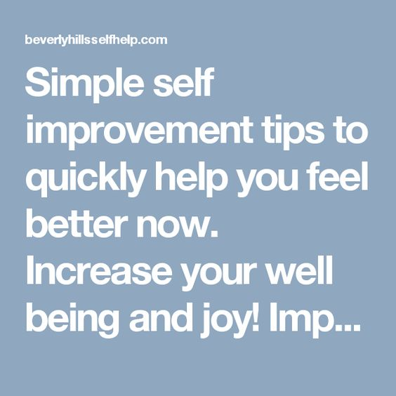 Simple self improvement tips to quickly help you feel better now. Increase your well being and joy! Improve your communication with practical advice and tips in dating, friendship or marriage.   Visit here: http://beverlyhillsselfhelp.com/narcissistictrump/