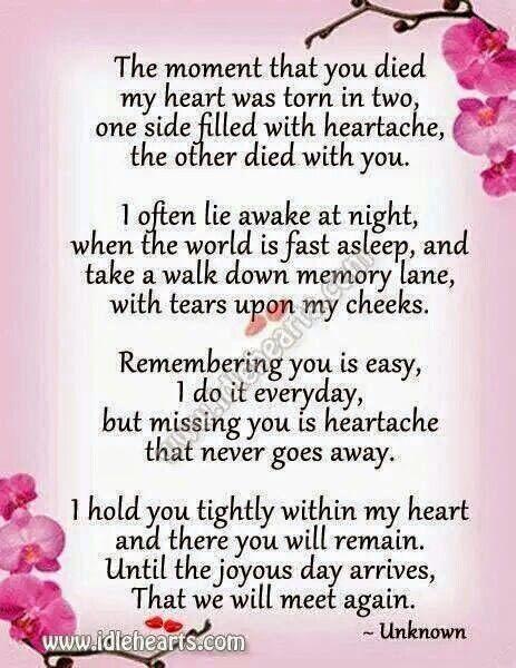 Heart aching