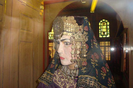 Folk Museum at the Khan's Palace at Bakhchisaray on the Crimean Peninsula