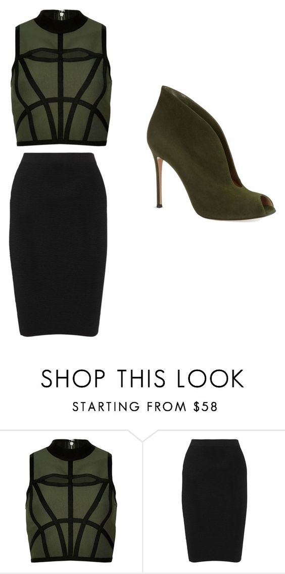 """Untitled #24"" by abbyischeerful on Polyvore featuring River Island, Jonathan Simkhai and Gianvito Rossi"