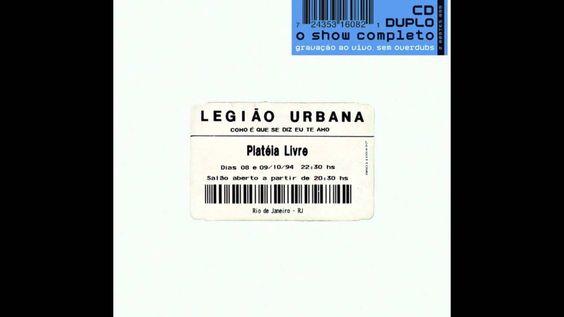 Legião Urbana - Como é que se Diz Eu te Amo [2001] | Completo full album