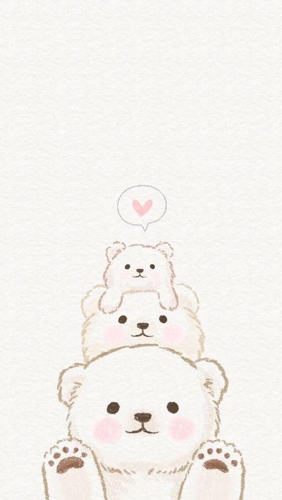 Familia De Ositos Cute Drawings Cute Doodles Cute Cartoon Wallpapers
