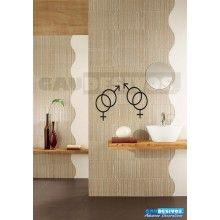 Adesivo de parede decorativos banheiro Sinal