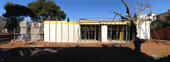 Estructura | Casa W | 08023 Arquitectos - Barcelona | #Arquitectos #Casas #Hormigón