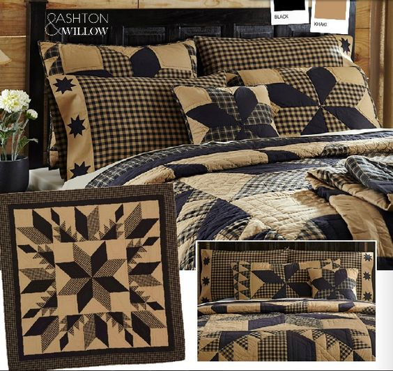 Country bedding Primitive colors and Primitive bedroom on