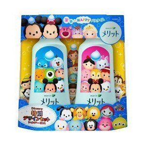 Japan Health and Beauty - [Disney special design set merit shampoo & rinse Ponpupea Disney Zum Zum design *AF27*