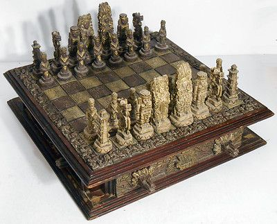 Wood Boards Chess Sets And Chess On Pinterest
