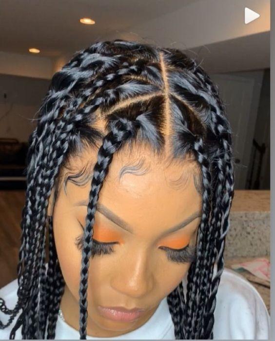 Coiffure Tresse Africaine 2020 Description Et Tutoriel Tendance 2020 En 2020 Coiffure Tresse Africaine Coiffure Tresse Coiffure Cheveux Naturels