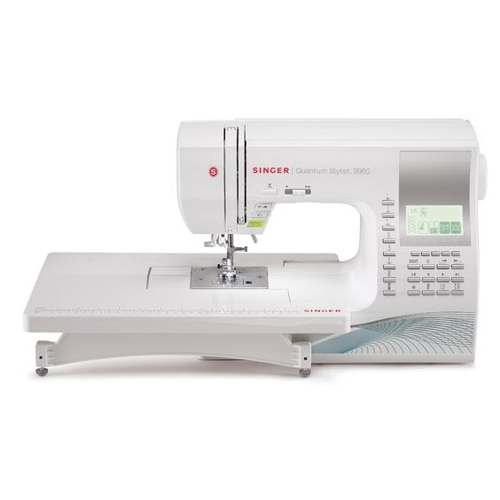 Amazon.com: SINGER 9960 Quantum Stylist 600-Stitch Computerized Sewing Machine with Extension Table, Bonus Accessories and Hard Cover: Arts, Crafts & Sewing