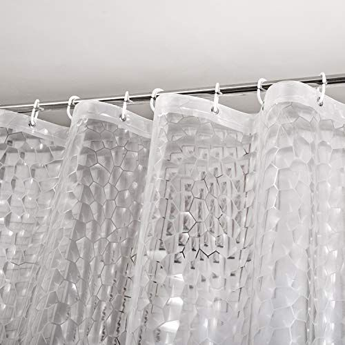 Weltrxe Heavy Duty Eva Shower Curtain Liner With Magnets Https