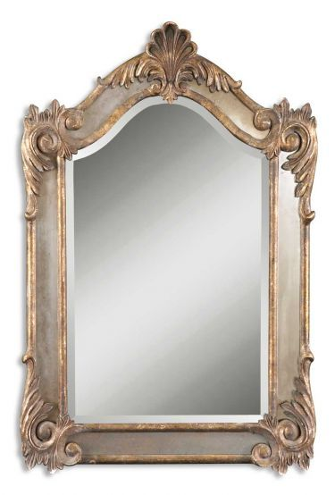 Alvita Small Mirror, Uttermost, Mirrors