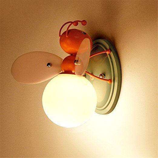 Z Mdh Bee Led Wall Lamp Children