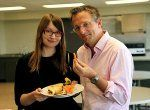 Horizon: Eat, Fast And Live Longer saw Michael Mosley try his hand at old-school fasting and battle his growling stomach (Picture: BBC)
