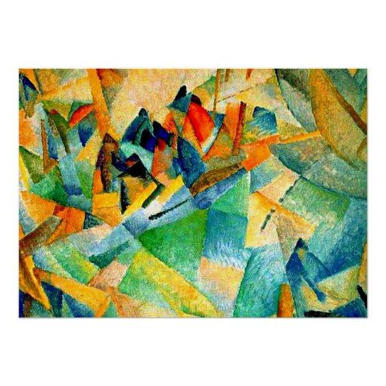 Customizable #Abstract#Art#Landscape #Cubism #Dutch#Modernist #Leo#Gestel #Leo#Gestel#Famous #Mallorca#Harbour Gestel painting Mallorca Harbour Poster available WorldWide on http://bit.ly/2gnkRtM
