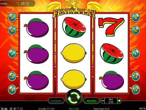 Fenix Play - http://freeslots77.com/fenix-play/ - Free Fenix Play online slot is characterized with 3 reels and 5 paylines. Wazdan has designed this game. On the reels, you will find mostly fruit symbols such as lemons, cherries, oranges, grapes, plums and watermelons. Other symbols are stars and red sevens. This slot machine game lacks...