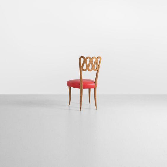 Gio Ponti / Rare and early chair from Conti Contini Bonaccossi