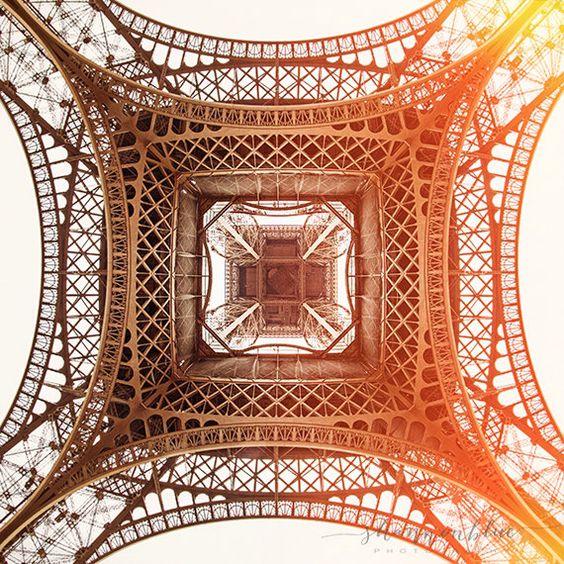 eiffel tower print, paris photography, travel photography, france, paris home decor, pink, gold / under the tower / 8x8 fine art photo by shannonpix on Etsy https://www.etsy.com/listing/231006356/eiffel-tower-print-paris-photography