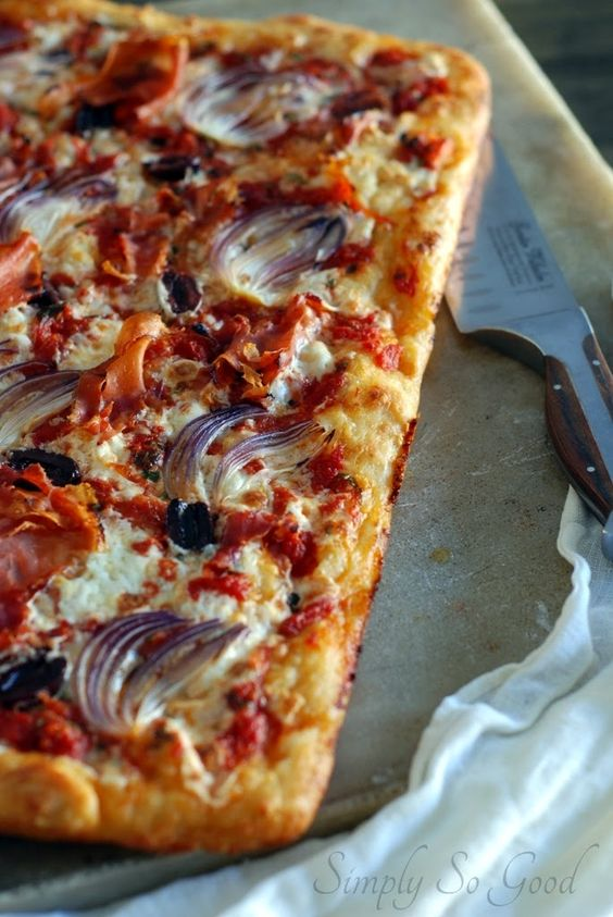Simply So Good: Slab Pizza Pie