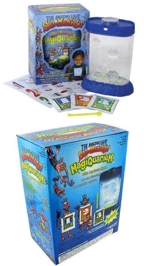 Educational 11731 Glowing Amazing Live Sea Monkeys Magiquarium Grow Monkey Tank Habitat Toys Buy It Now Only 13 39 Sea Monkeys Farm Animal Toys Habitats